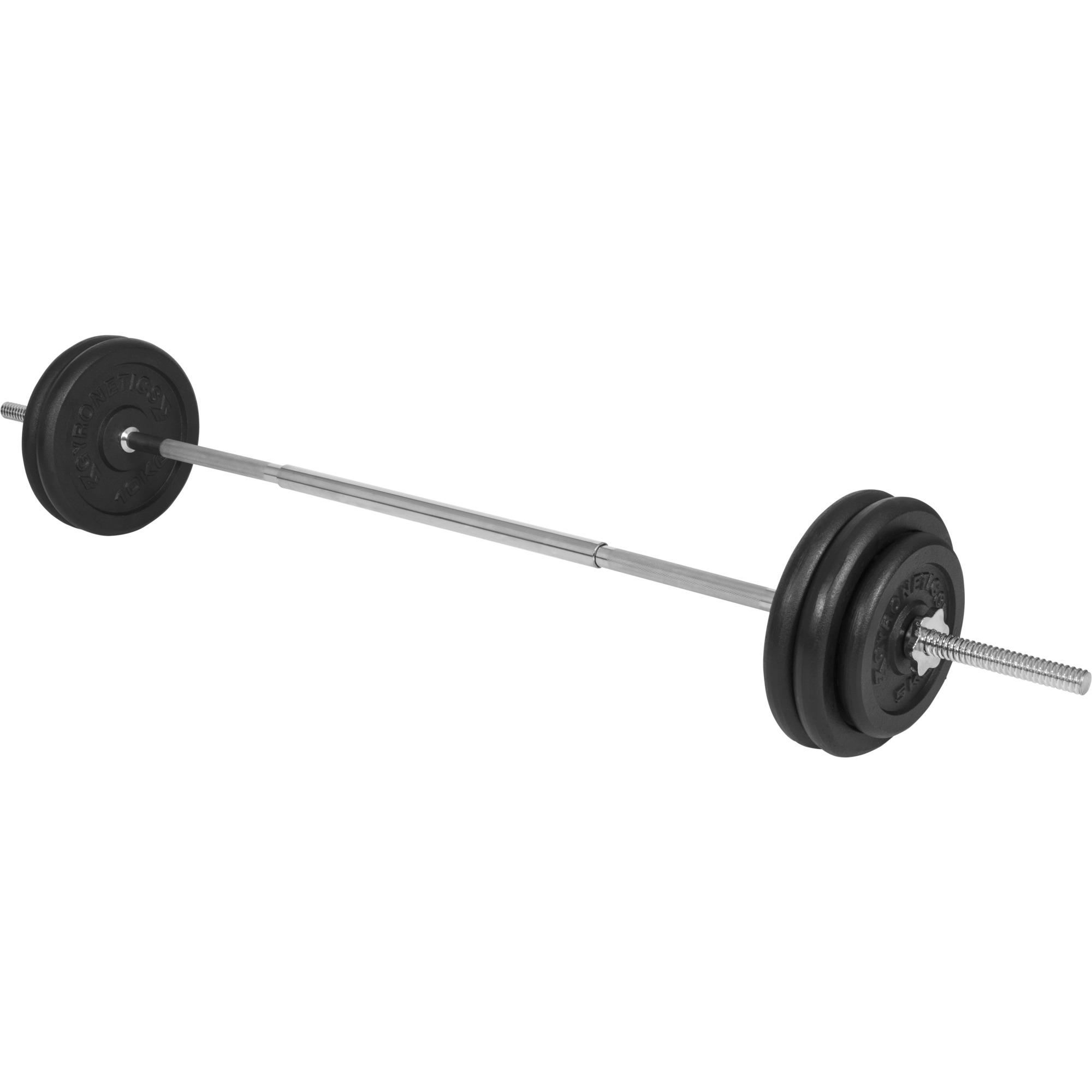 E-Series Langhantelset 25 mm Gusseisen 56,5 kg