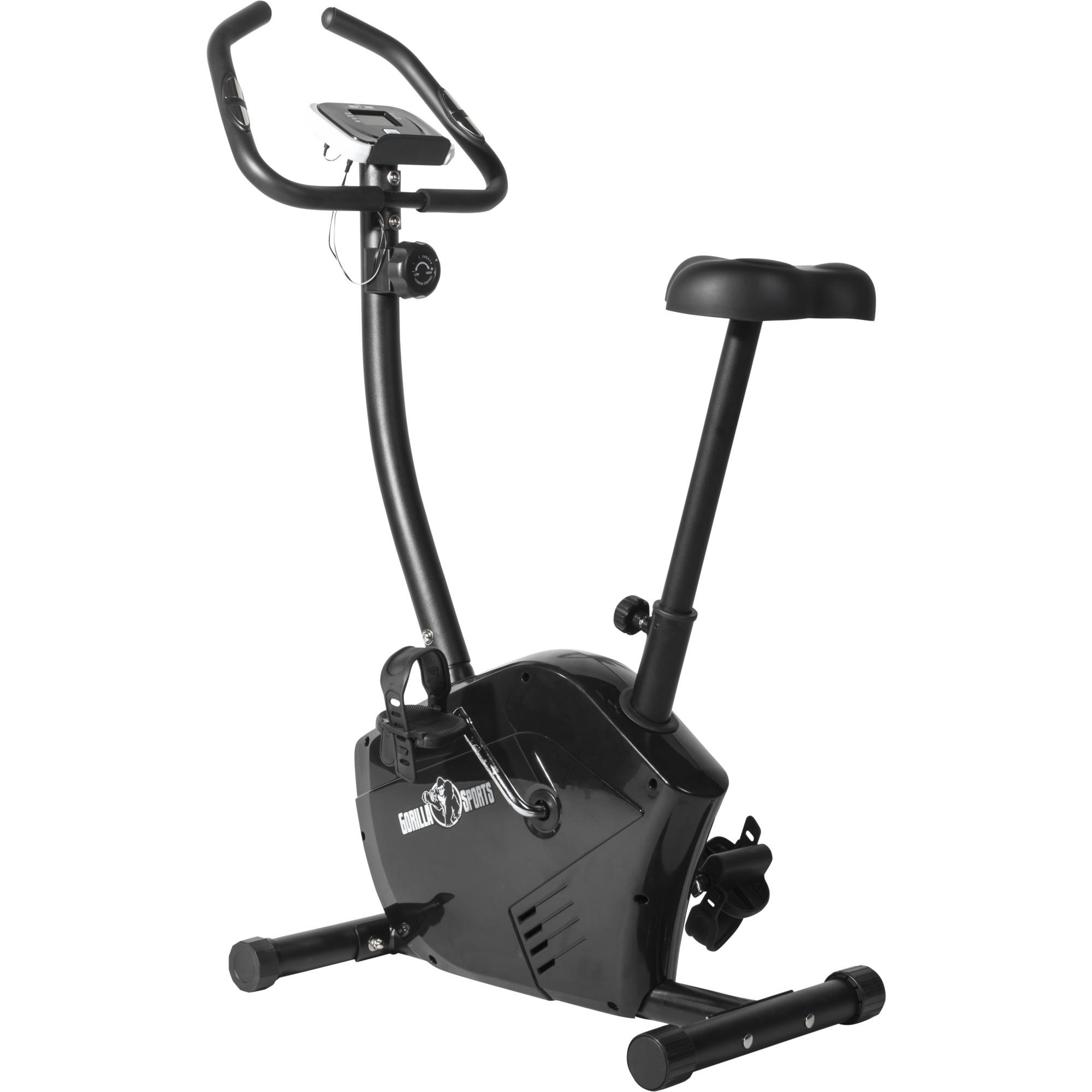Ergometer Fahrrad schwarz