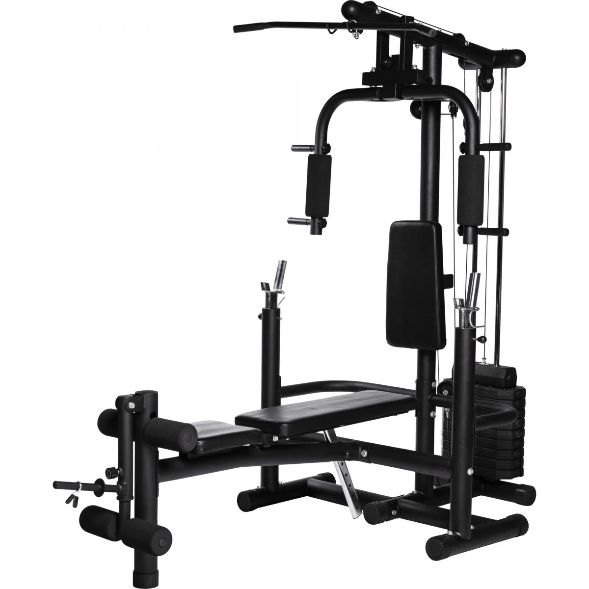 Extended Home Gym schwarz