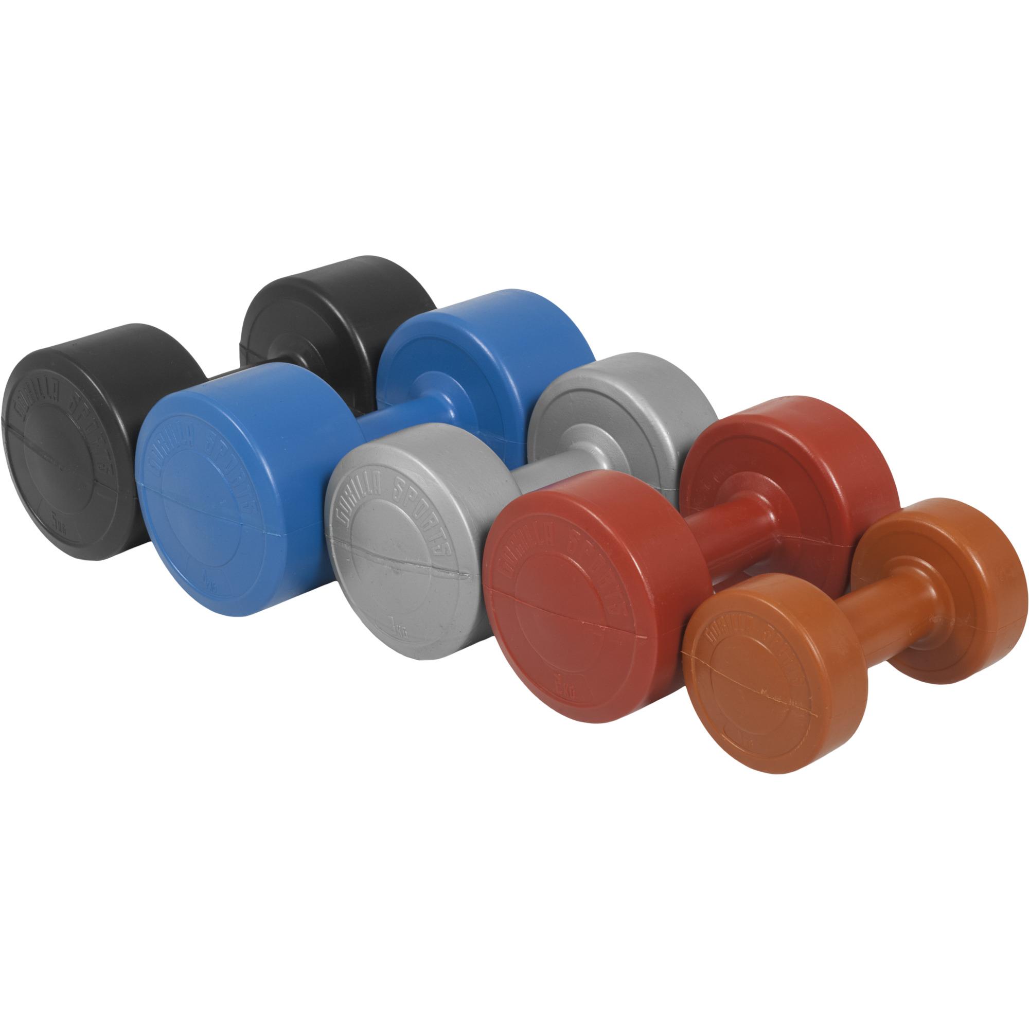 Gymnastikhantel Aerobic Kunststoff
