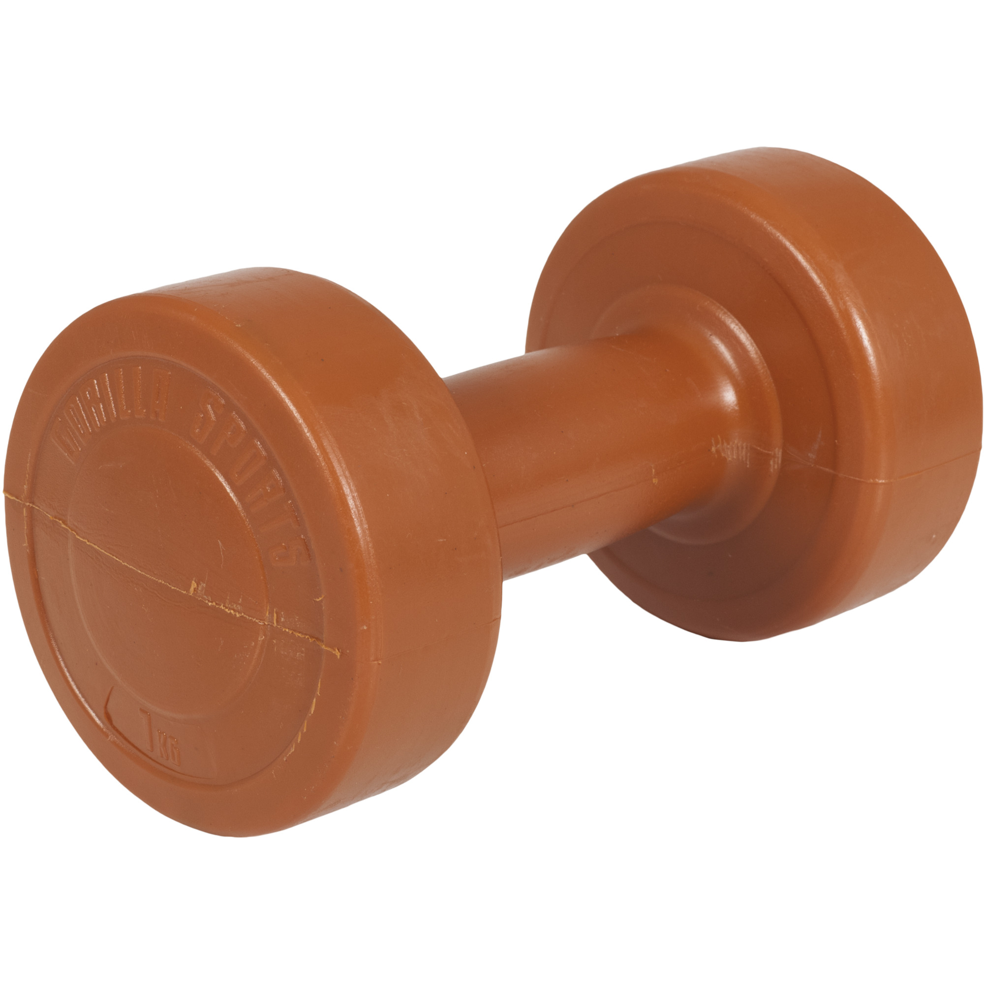 Gymnastikhantel Aerobic Kunststoff Orange 1 kg