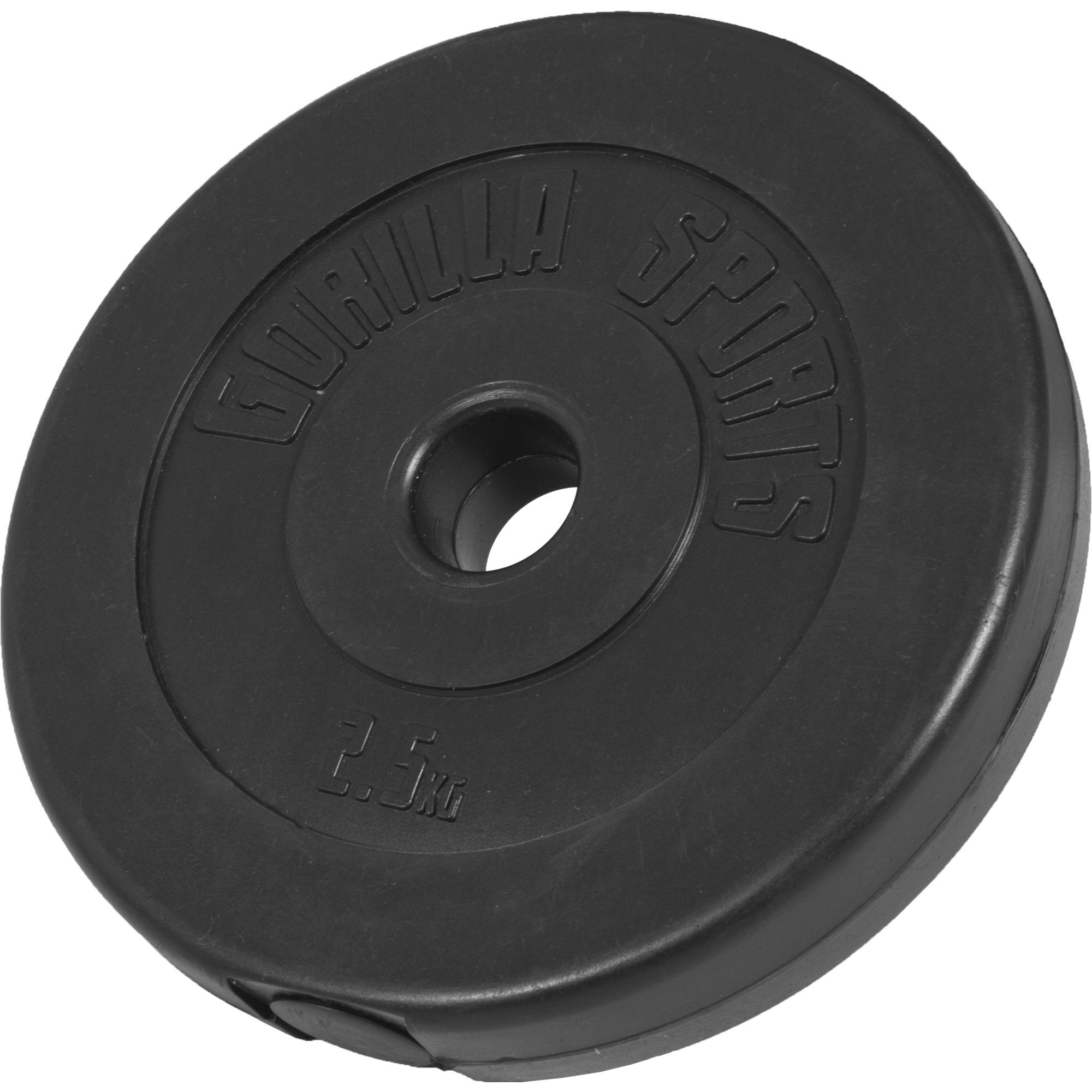 Gorilla Sports Hantelscheibe Kunststoff 2,5 kg 100547-00006-0007