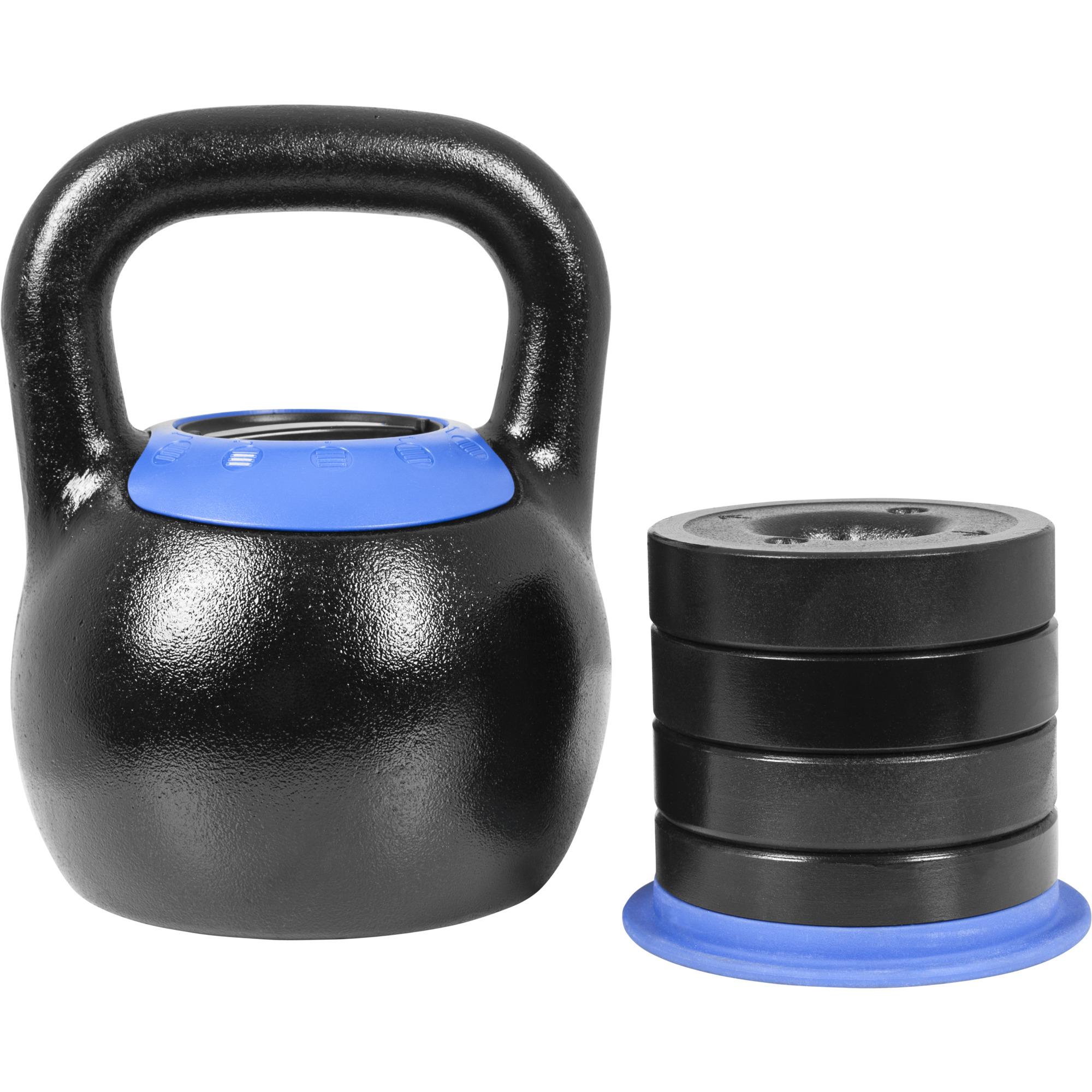 Gorilla Sports Verstellbare Kettlebell 16-24 kg 100835-00001-0028