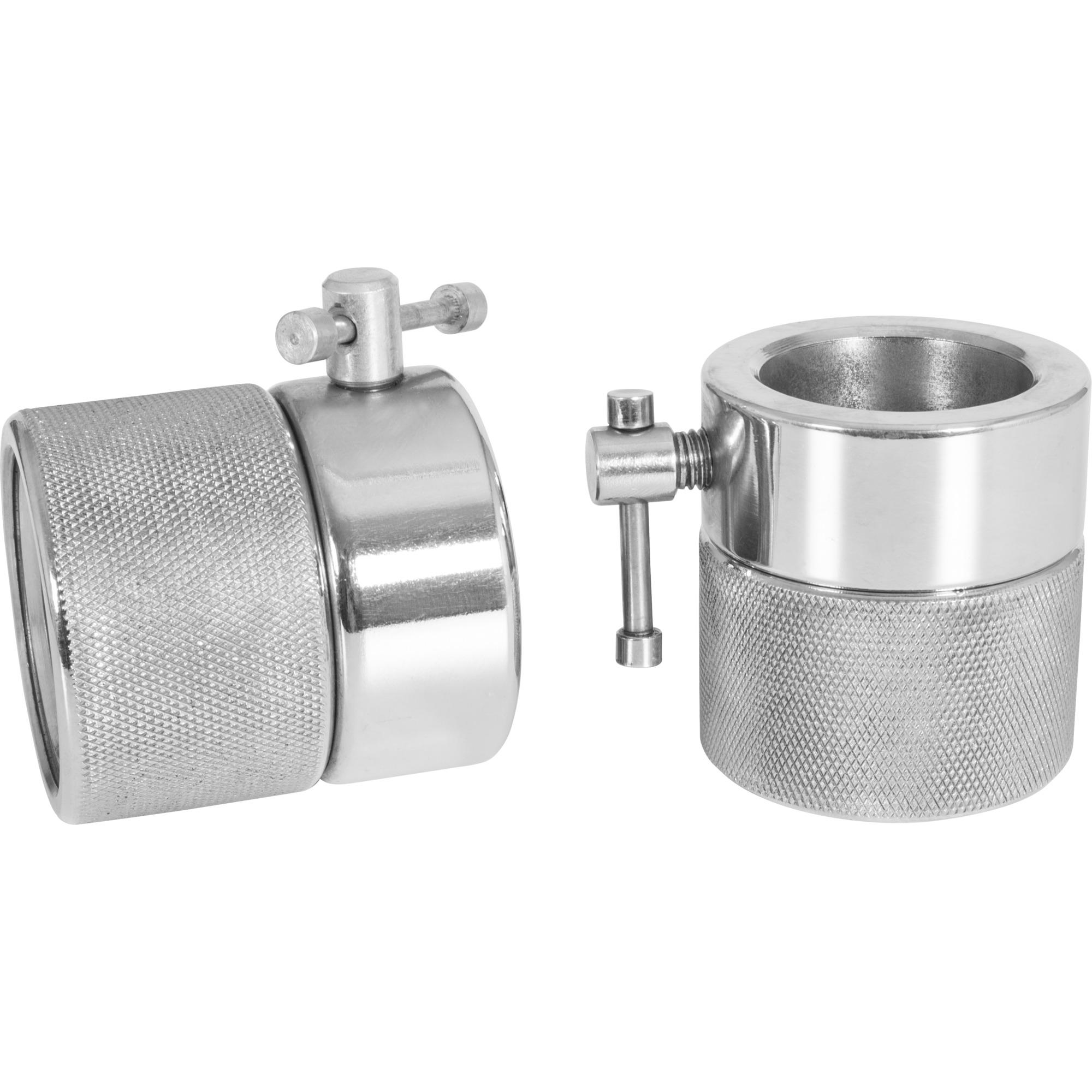 Schnellverschlüsse für Hantelstangen 50/51 mm Chrom 2-er Set