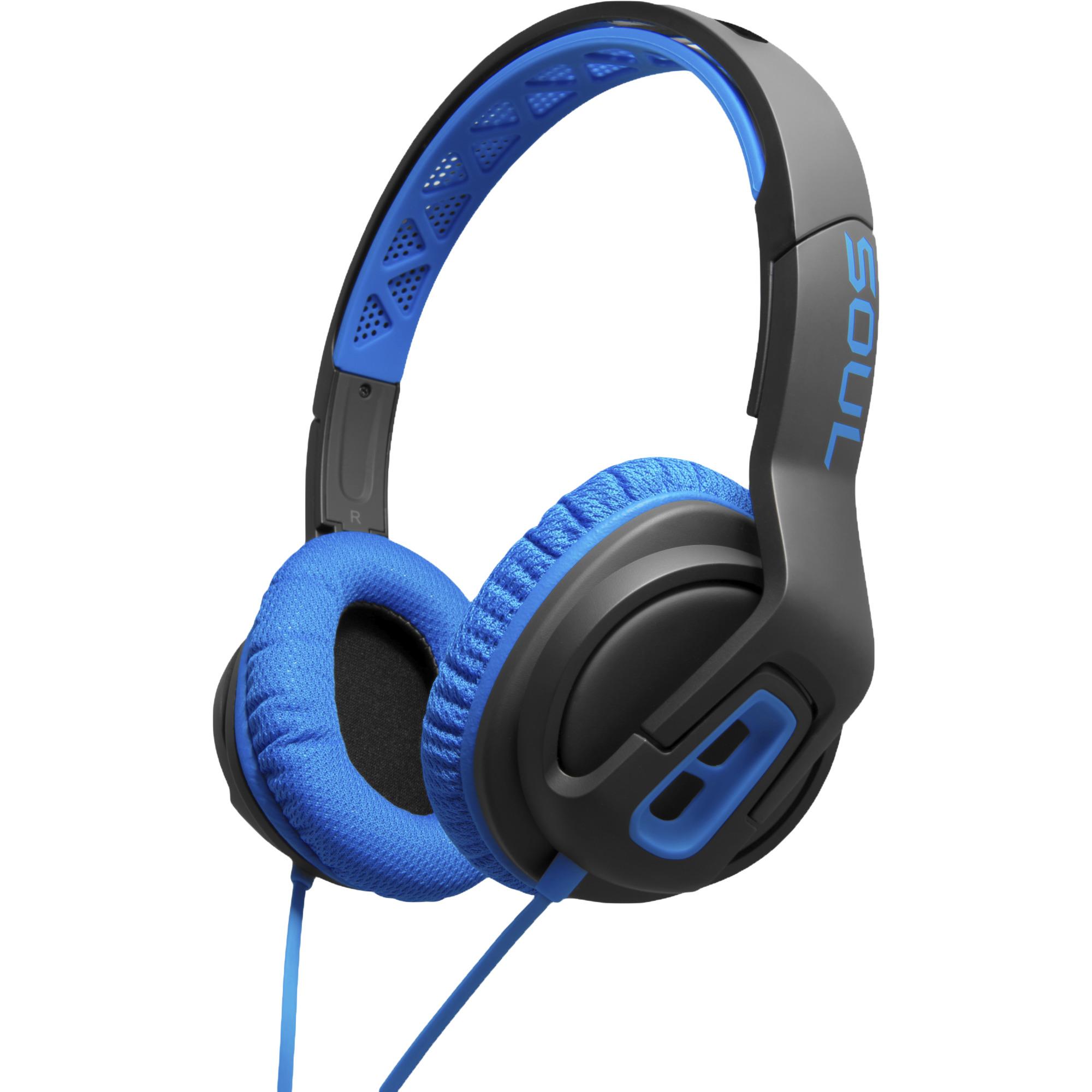 Soul Sportkopfhörer on/over ear Transform - Blue Over Ear L1069382