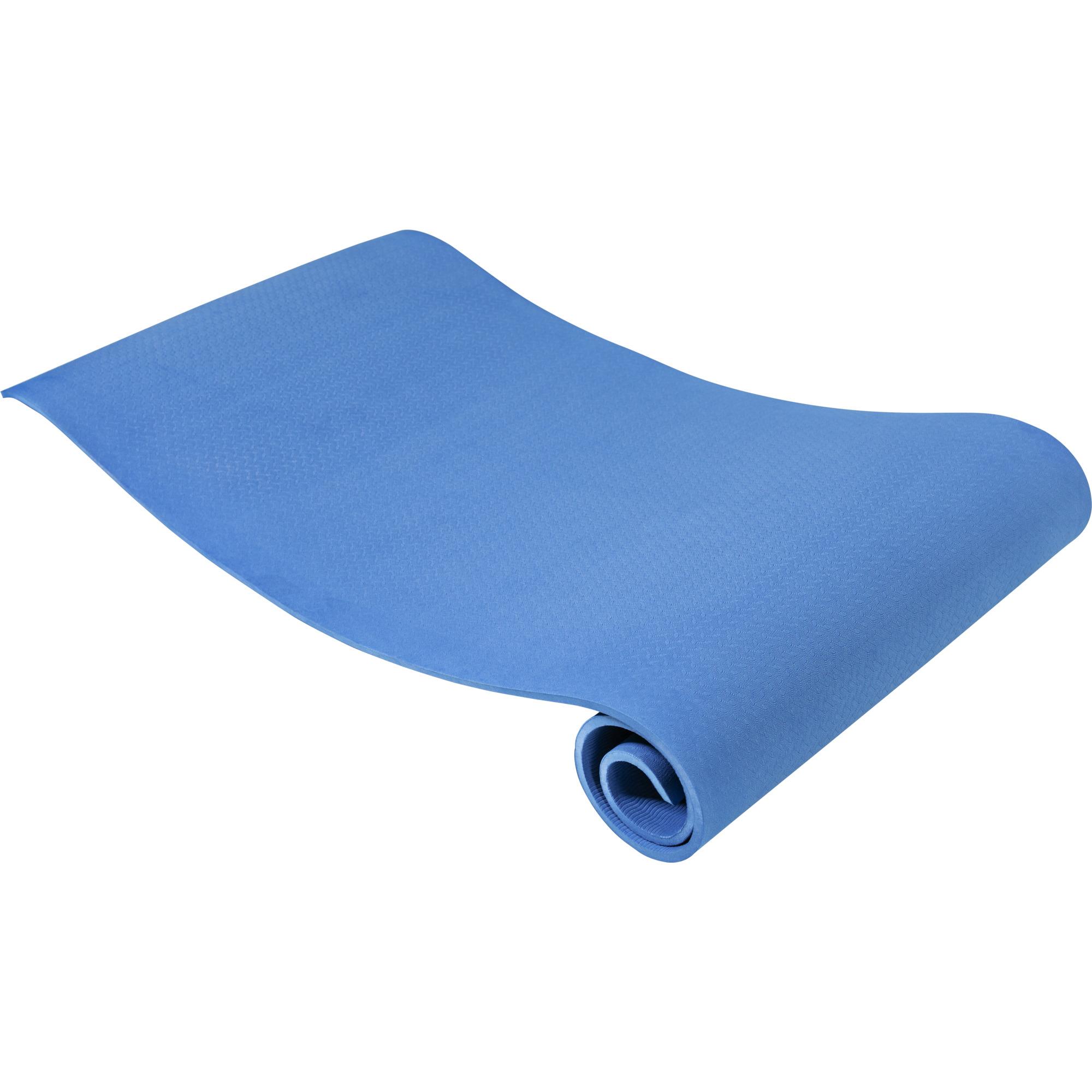 Yogamatte Dünn Blau 10 mm