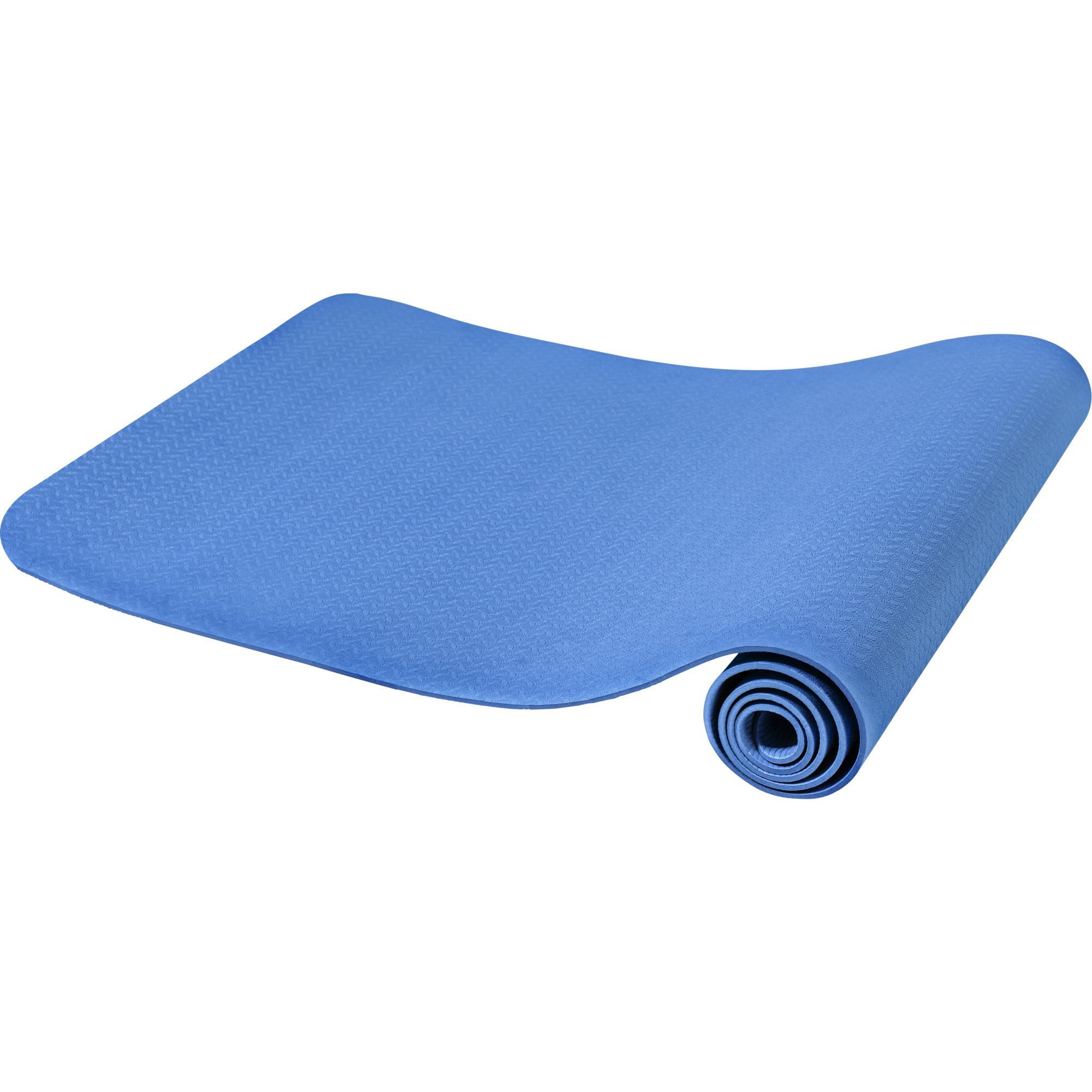 Yogamatte Dünn Blau 4 mm