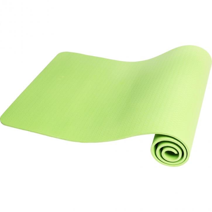 Yogamatte Dünn Limegreen 10 mm