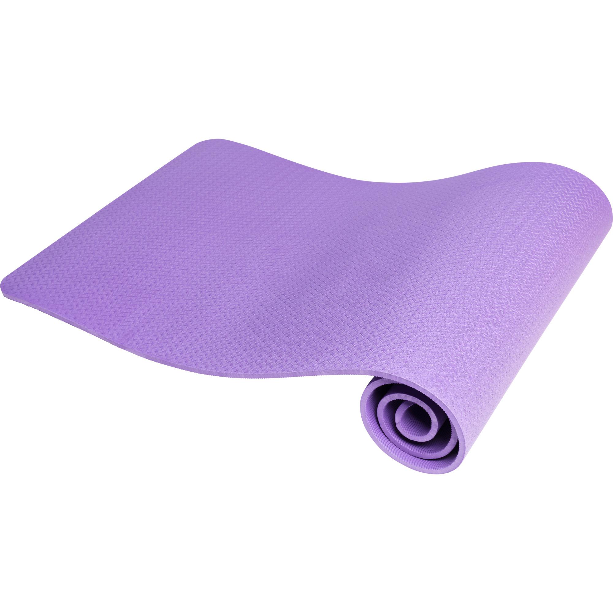 Yogamatte Dünn Purple 10 mm