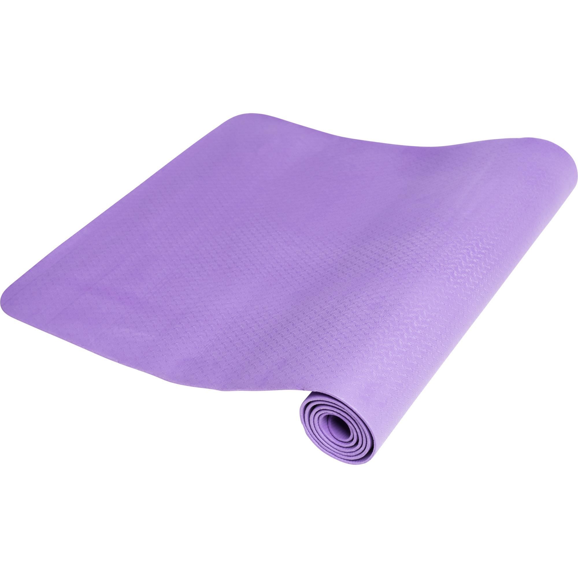 Yogamatte Dünn Purple 4 mm