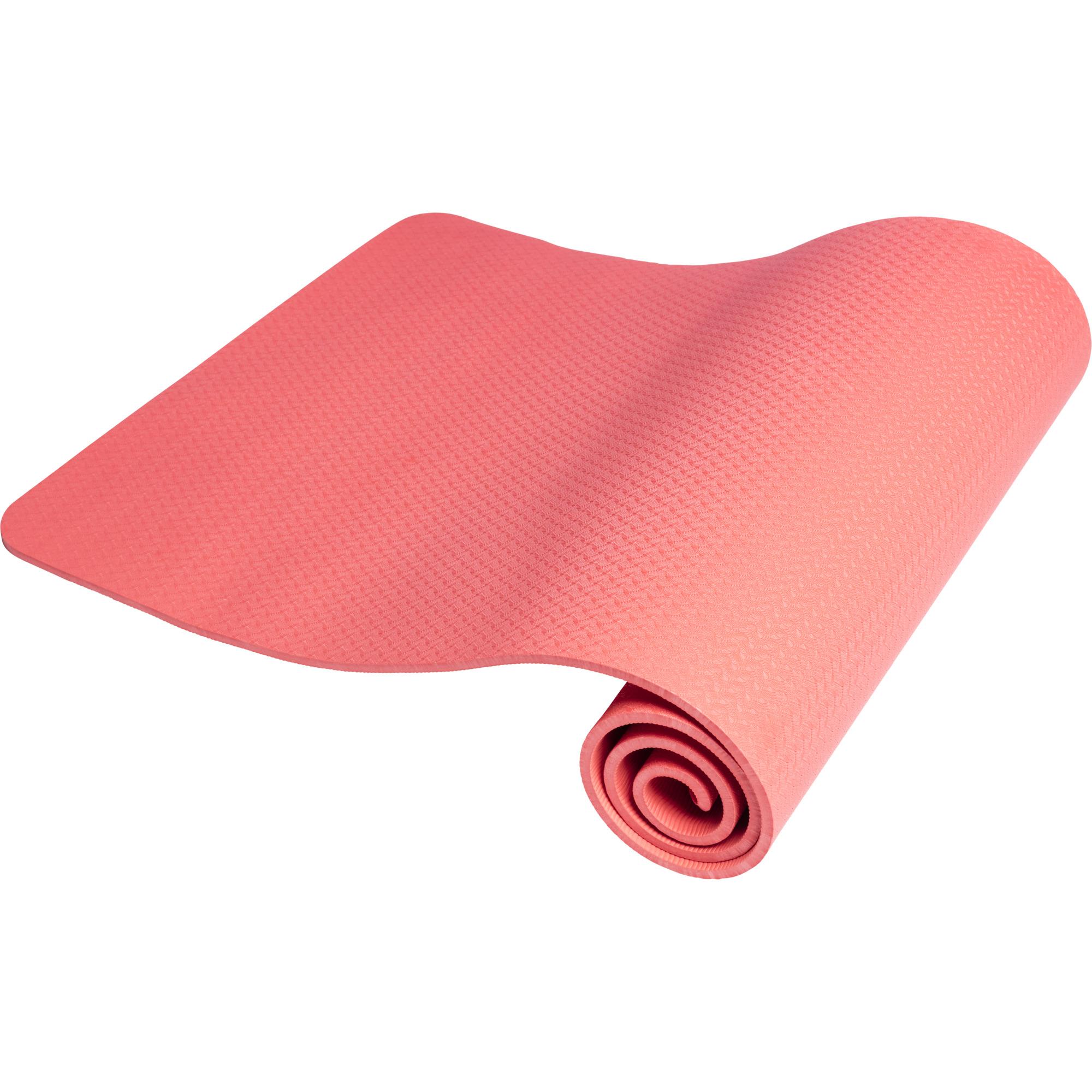 Yogamatte Dünn Rot 10 mm
