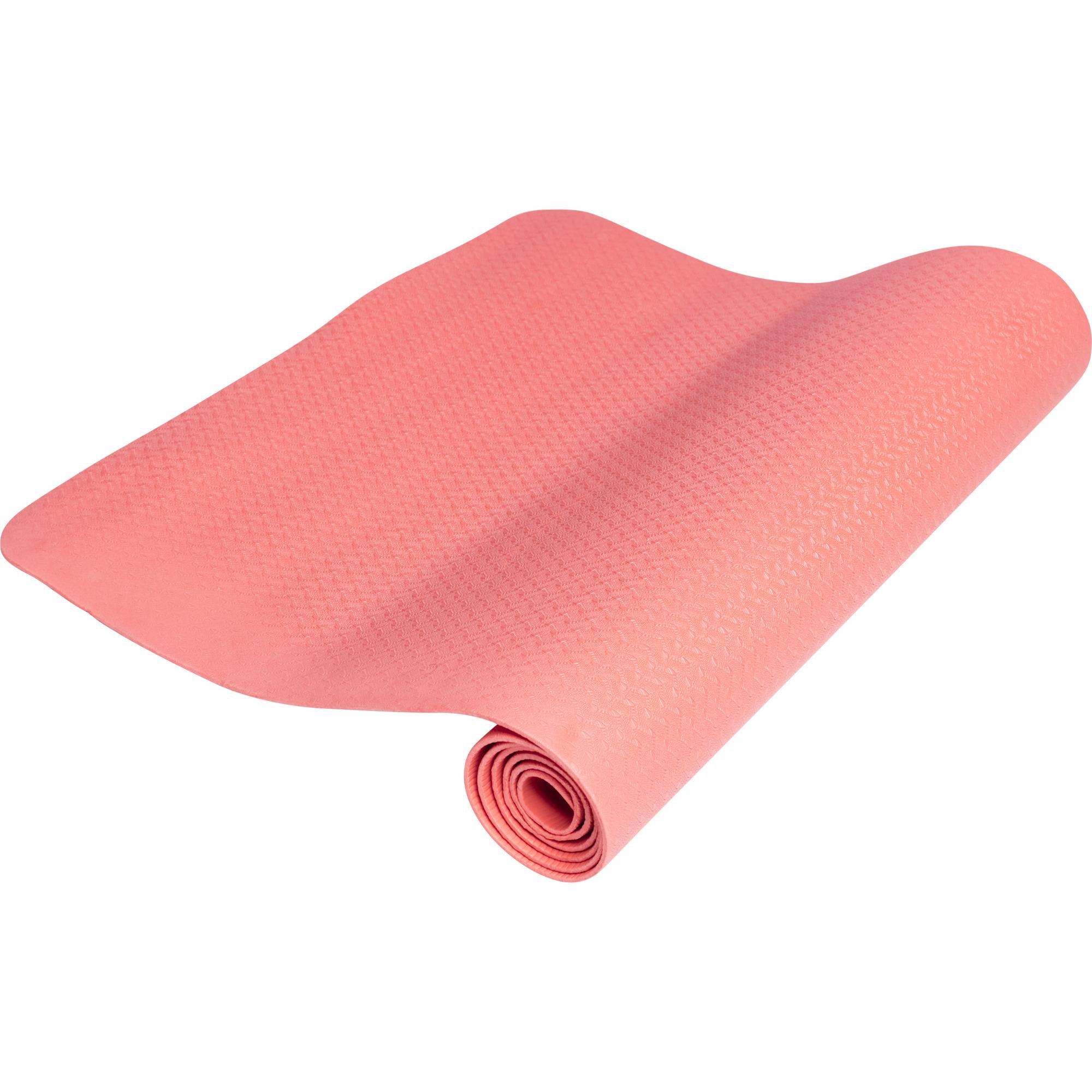 Yogamatte Dünn Rot 4 mm