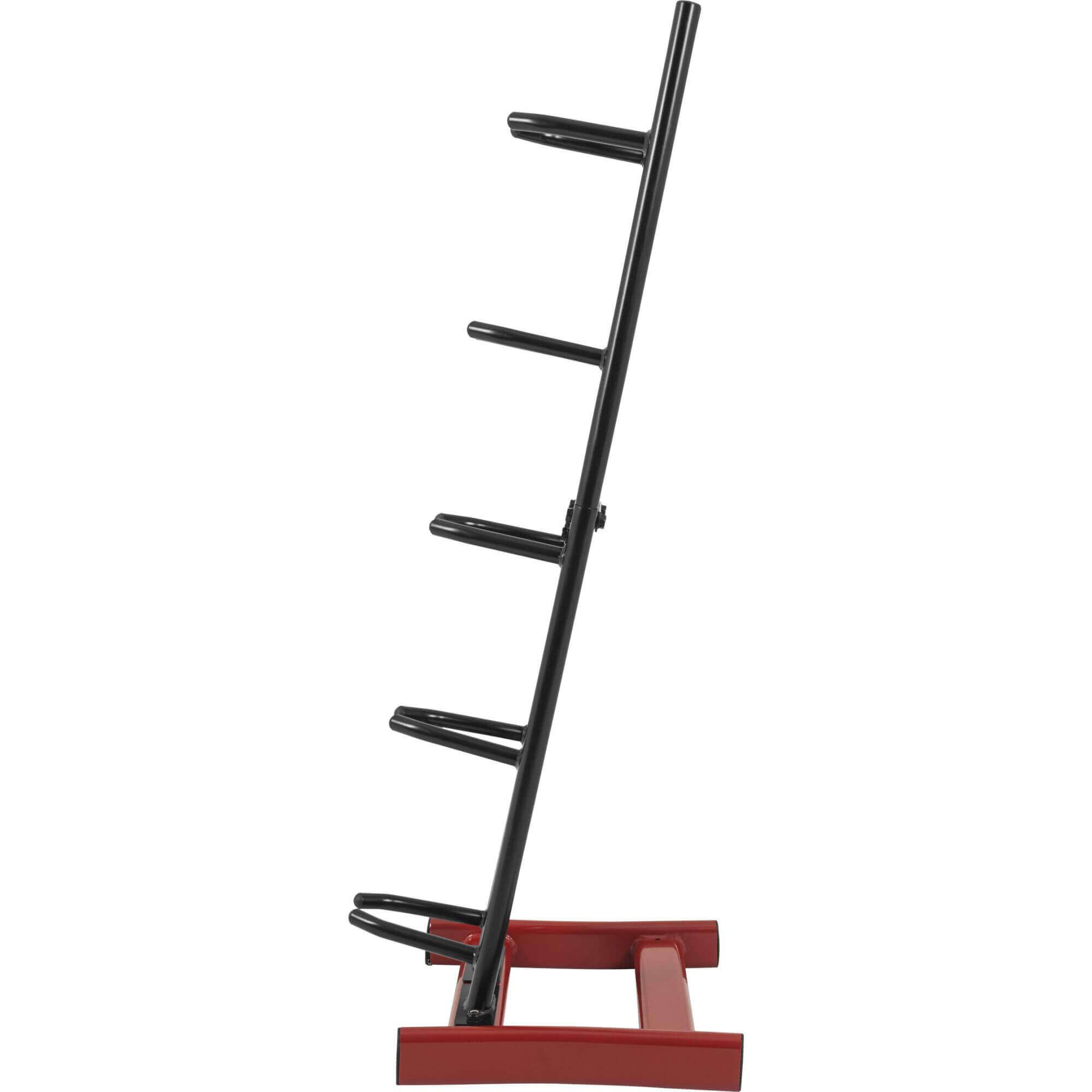 GORILLA SPORTS/® Medizinball-St/änder vertikal mit 5 Ablagen belastbar bis 100 kg in Schwarz//Rot