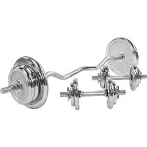 SZ-Curlset Chrom 70 kg