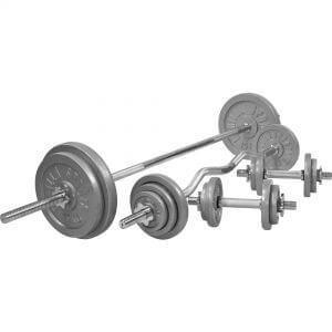 Komplettset Gusseisen 108 kg