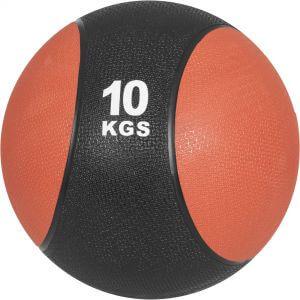 Medizinball Rot/Schwarz 10 kg