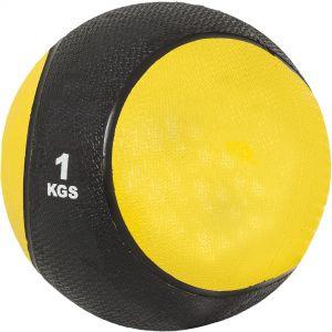 Medizinball Gelb/Schwarz 1 kg