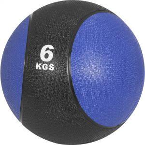 Medizinball Dunkelblau/Schwarz 6 kg