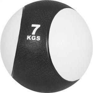 Medizinball Weiss/Schwarz 7 kg