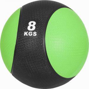 Medizinball Hellgrün/Schwarz 8 kg