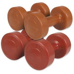 Aerobic Gymnastik Hantelset Kunststoff 6 kg - 2 x 1 - 2 x 2 kg