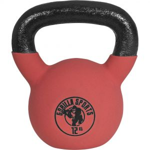 Red Rubber Kettlebell 12 kg
