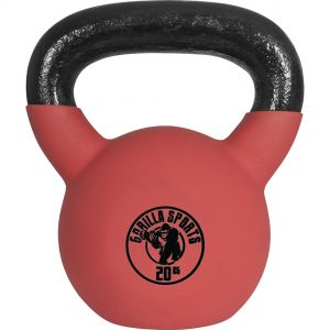 Red Rubber Kettlebell 20 kg