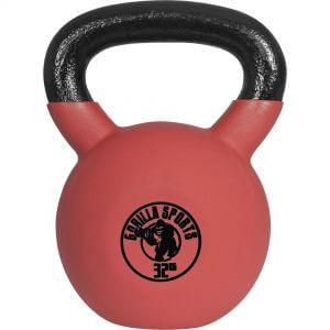 Red Rubber Kettlebell 32 kg