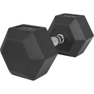 Hexagon Kurzhantel Gummi 22,5 kg