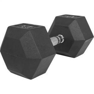 Hexagon Kurzhantel Gummi 27,5 kg