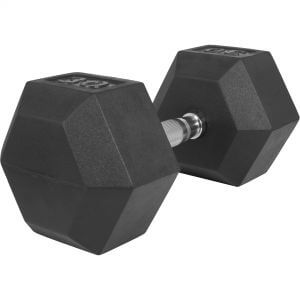 Hexagon Kurzhantel Gummi 30 kg