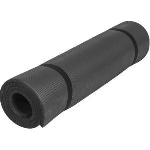 Yogamatte Schwarz 190 x 100 x 1,5 cm