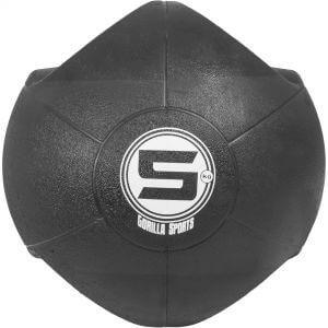 Medizinball mit Eingriffen Schwarz 5 kg