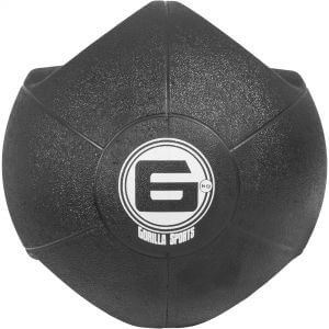 Medizinball mit Eingriffen Schwarz 6 kg