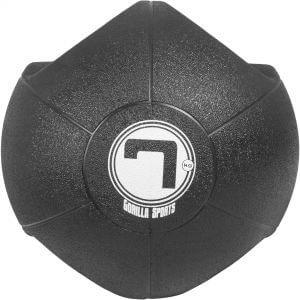 Medizinball mit Eingriffen Schwarz 7 kg