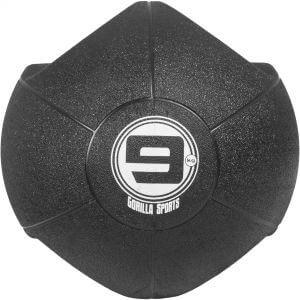 Medizinball mit Eingriffen Schwarz 9 kg