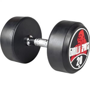 Rundhantel Schwarz/Rot 20 kg