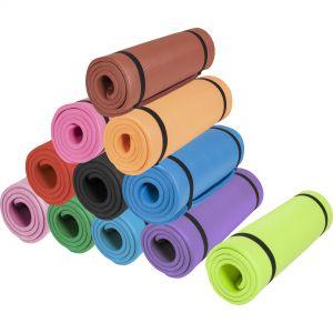Yogamatte in verschiedenen Farben und Größen