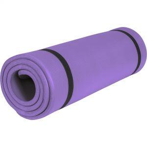Yogamatte Violett 190 x 60 x 1,5 cm