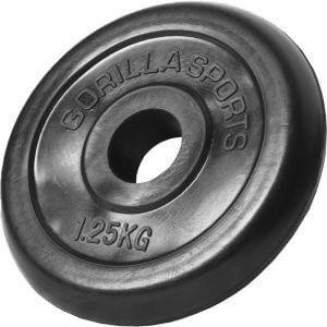 Hantelscheibe Gummi 1,25 kg