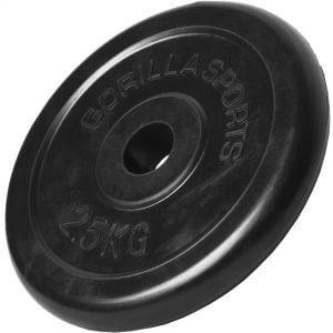 Hantelscheibe Gummi 2,5 kg
