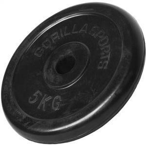 Hantelscheibe Gummi 5 kg