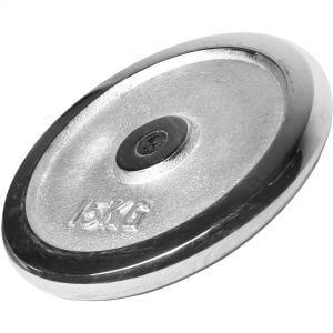 Hantelscheibe Chrom 15 kg