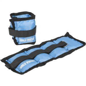 Gewichtsmanschetten Blau 1 kg - 2 x 0,5 kg