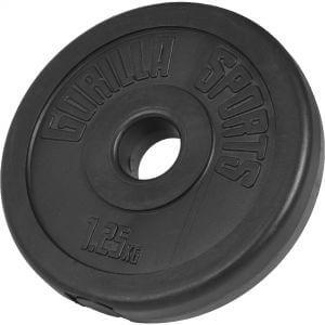 Hantelscheibe 25 mm Kunststoff 1,25 kg