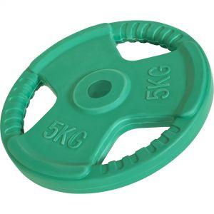 Hantelscheibe 30/31 mm Gummi Gripper 5 kg