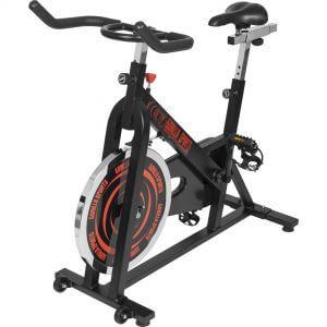 Indoor Cycling Fahrrad Schwarz/Rot