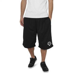 Gorila Mesh Shorts Schwarz/Weiss