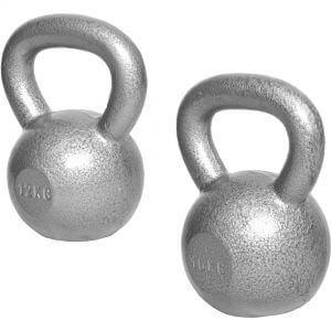 Kettlebellset 12 kg, 16 kg Gusseisen 28 kg