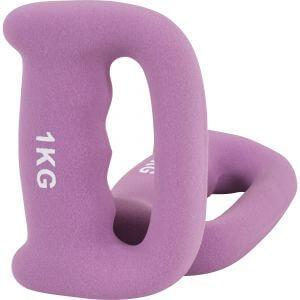 Griffhantel Neopren Pink 2 kg - 2 x 1 kg